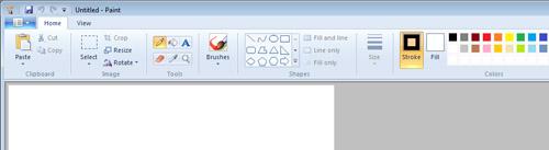 Screenshot of Pain in Windows 7