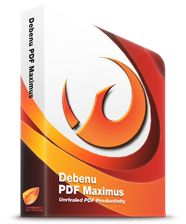 Debenu PDF Maximus Box Product
