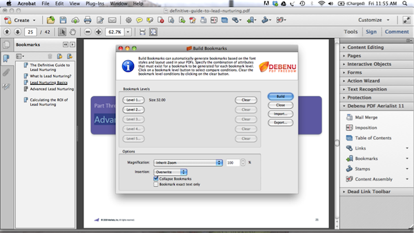 Add Bookmarks to PDF 11