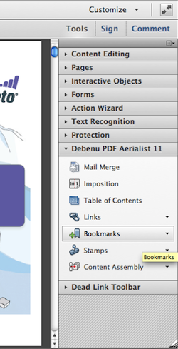Add Bookmarks to PDF 2