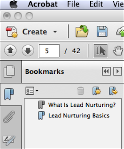 Add Bookmarks to PDF 8
