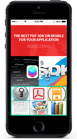 Mobile PDF SDK for iPhone