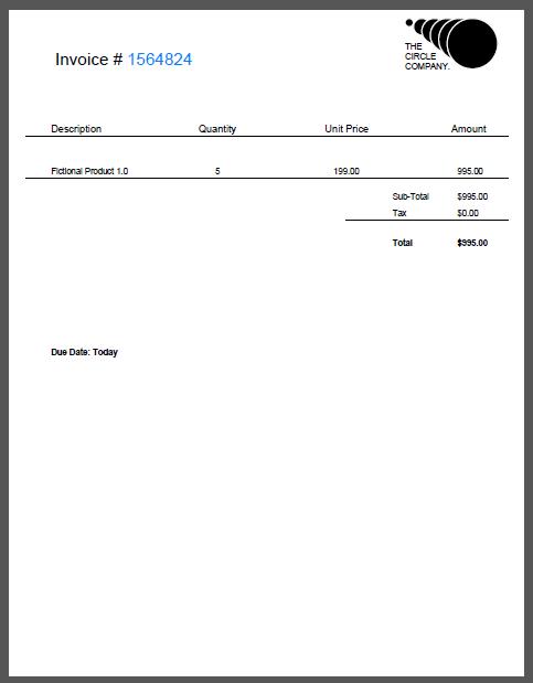 Sample Invoice PDF