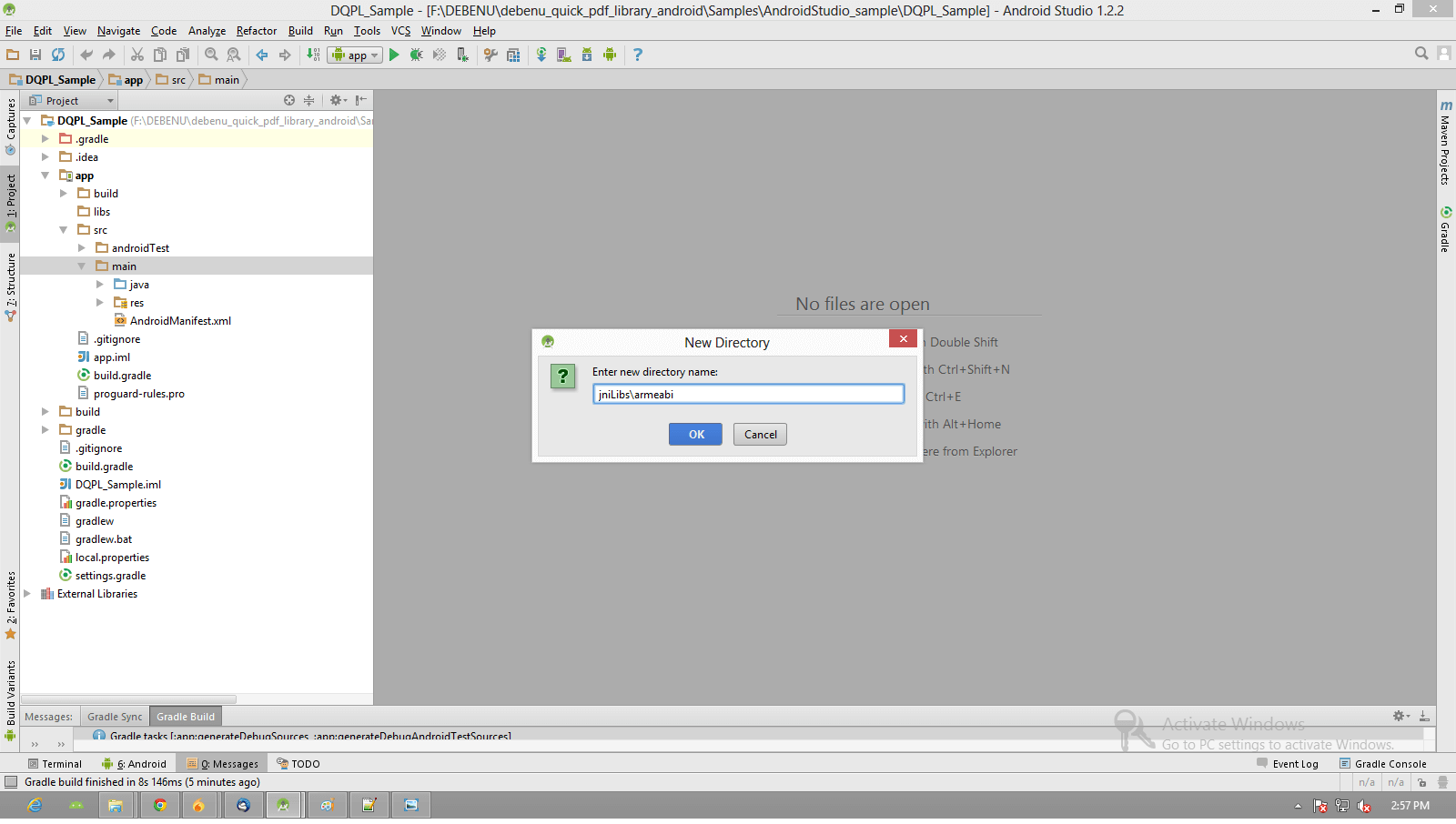 Setup Android Studio and Debenu Quick PDF Library - Foxit SDK