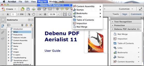 Debenu PDF Aerialist 11 Screenshot