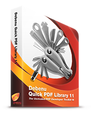 Debenu Quick PDF Library